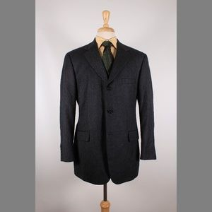 Brooks Brothers 41R Gray Sport Coat B576